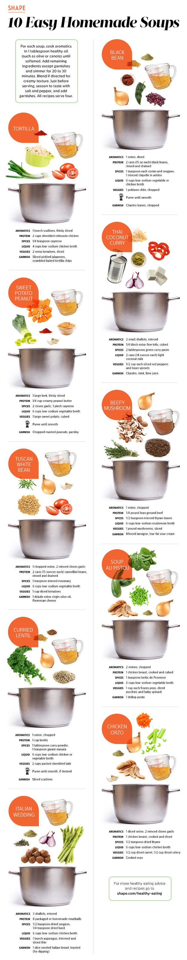 making perfect homemade soups guide