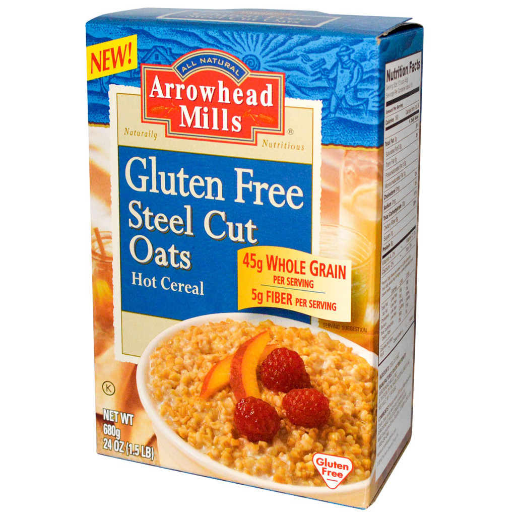 Arrowhead Mills Gluten Free Steel Cut Oats Hot Cereal